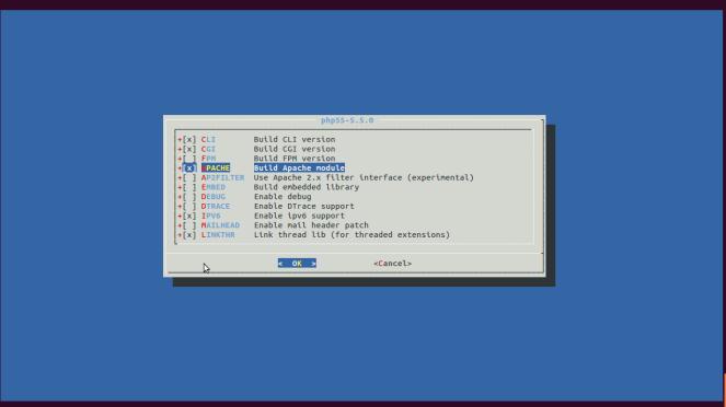 PHP55Apache module