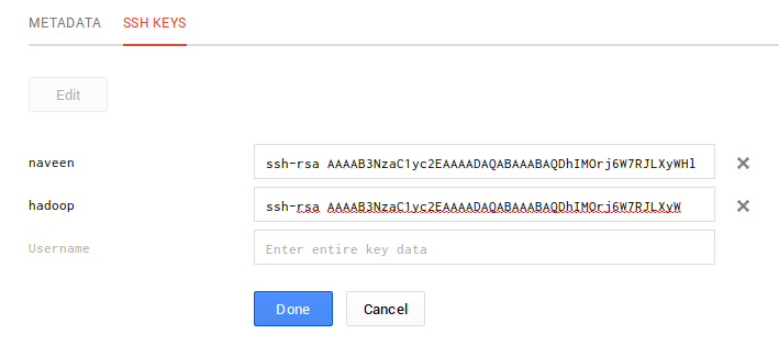 Google Developers Console