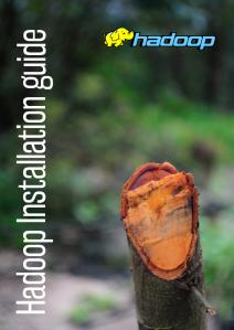 Hadoop installation guide  cover