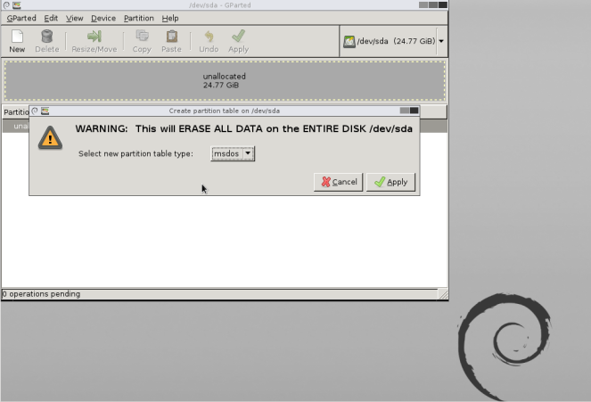 Managing Hard disk partitions using GParted live – Free and